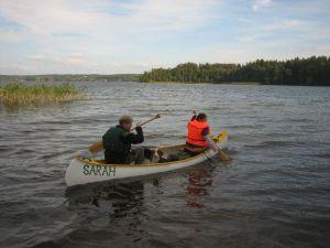 """Ein Kanu-Ausflug auf dem """"Plautziger See"""""""