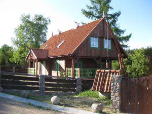 ein neues Masurenhaus in Grünau/Zielonowo